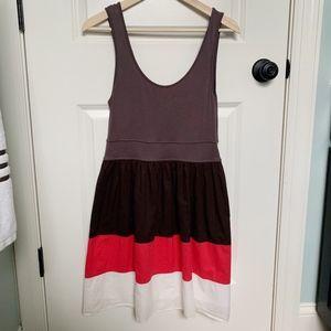 ANTHRO Maeve Colorblock Tank Dress